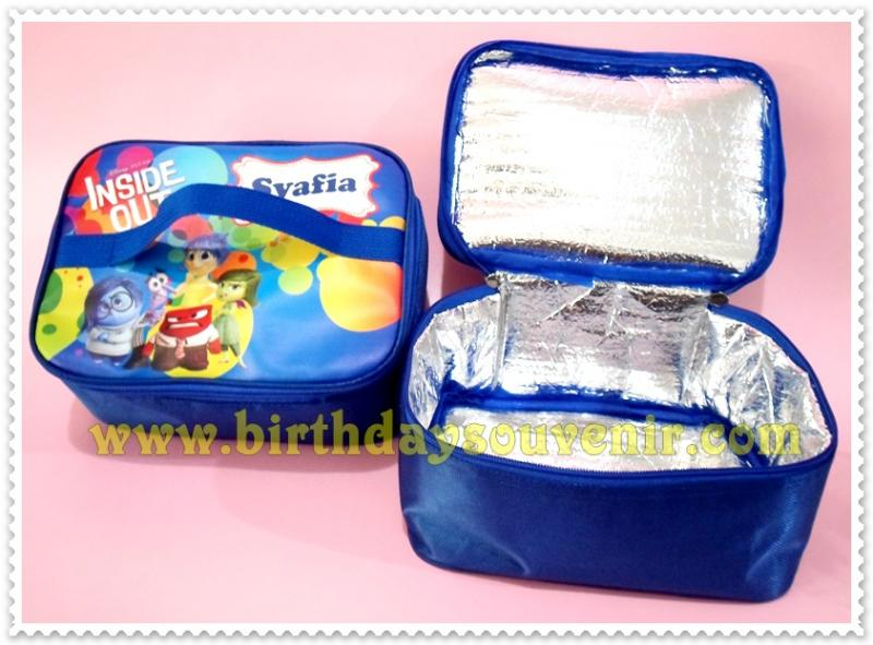 Souvenir Tas Lunch Box Pendek Inside Out