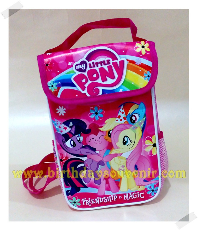 Souvenir Lunch Box Tinggi Little Ponny