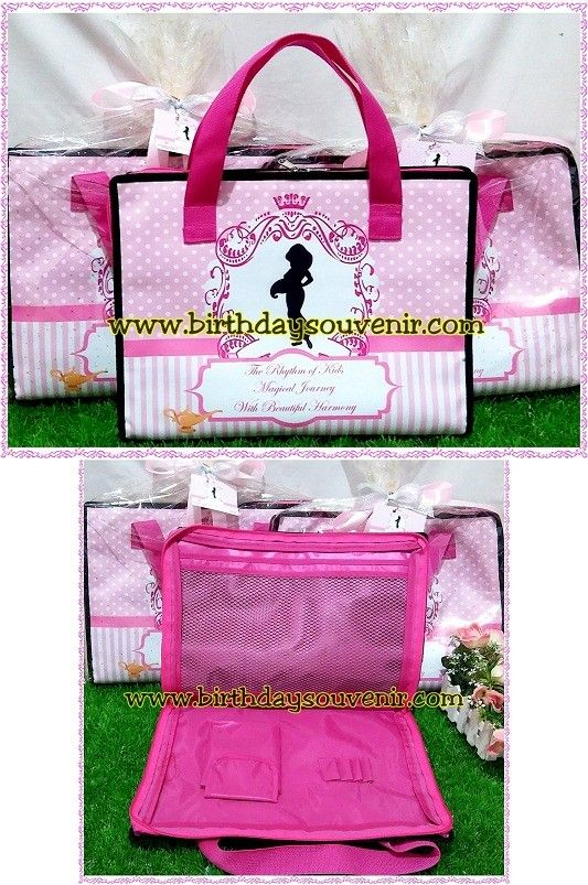 Souvenir Drawing Bag Tema Princess Jasmine
