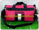 Souvenir Tas Travel Gym Bordir ( versi merah )