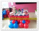 Sweet Corner / Dessert Table Ultah Fei tema Pj Masks