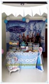 Sweet Corner / Dessert Table tema Frozen Ultah Amelia