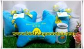Souvenir Hampers Tema Baby Duck  Blue