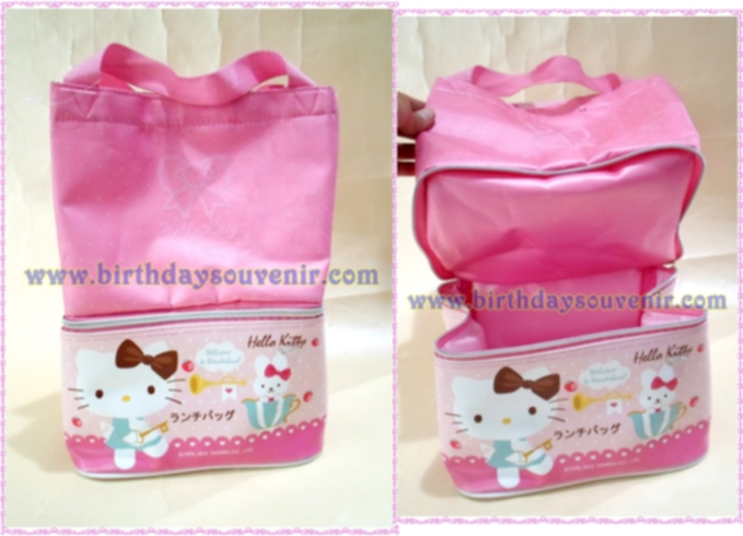 Souvenir Tas Tenteng Lunch Box Susun