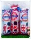 Souvenir Bantal Guling Print London