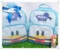 Souvenir Tas ransel Stripes Premium Tema Donald Duck