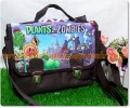 Souvenir Tas Selempang Zipper Tema Monsterhigh ( Brown )