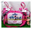 Souvenir tas Mini Travel Smurf Pink