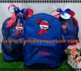 Souvenir Tas Ransel Stich Bordir Tema Superwings