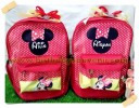 Souvenir Tas Ransel Stich Print Tema Mini Mouse