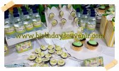 Sweet Corner/ Dessert Table Ultah Daffi tema jungle
