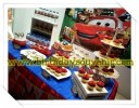 Sweet Corner / Dessert Table Ultah Azel tema Cars