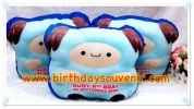 Souvenir Bantal Bentuk Squishy Blue