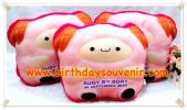 Souvenir Bantal Bentuk Squishy Orange