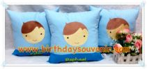 Souvenir Bantal Bordir Tema Boy