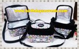 Souvenir Tas Lunch Box Double decker Tema Mobil