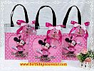 Souvenir Tote Bag Mika tema minnie mouse