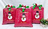 Souvenir Bantal Bordir tema christmash