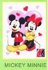 Selimut Mickey Minnie