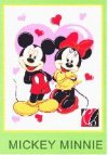 Selimut Mickey Minnie 2